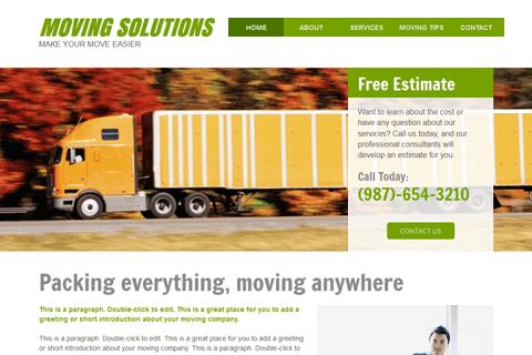 Shipping & Logistics Website Templates | Build a Free
