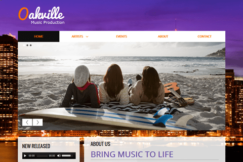 Website templates and designs — Website.com