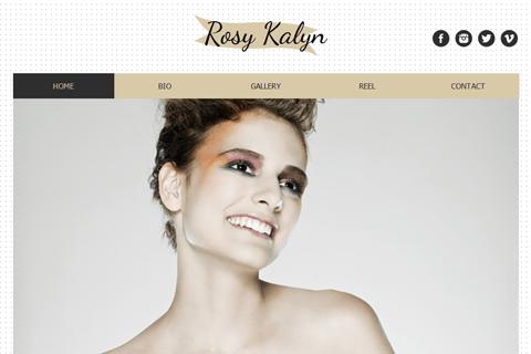 Hair Stylist Website Templates Build A Free Website